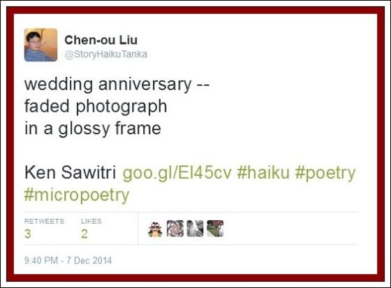 Ken Sawitri_Never Ending Story_003_Frogpond_001 @StoryHaikuTanka_3Retweets 2Likes