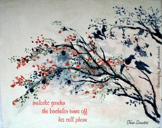 Editor's Choice Haiga and Tankart Cattails May 2014 Edition