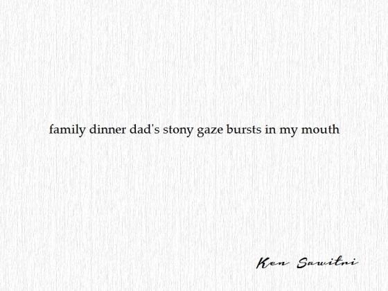 Ken Sawitri_Under The Basho 20014_family dinner