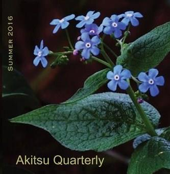 Akitsu Quarterly, Summer 2016